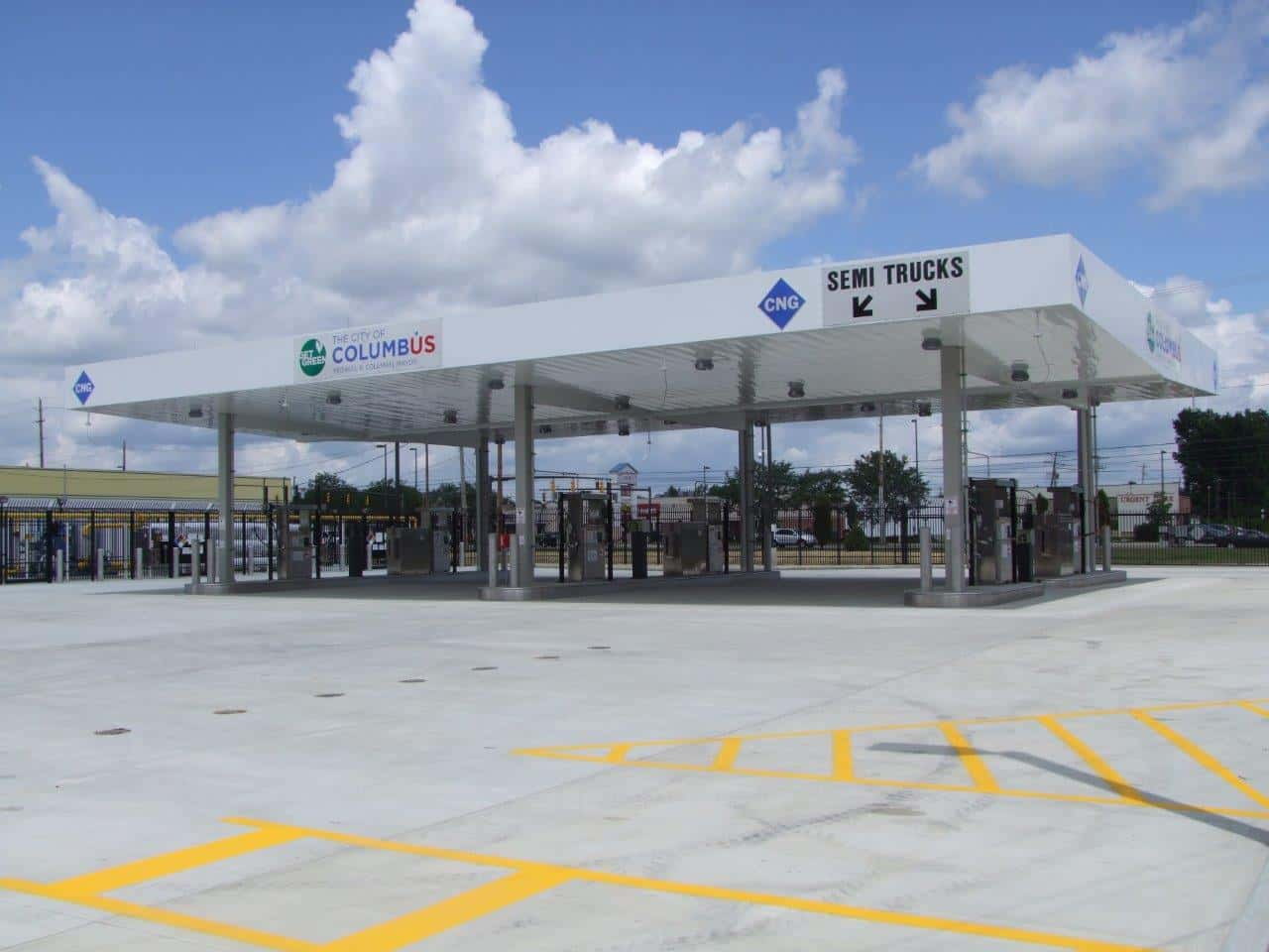 Compressed Natural Gas Fueling Station Design