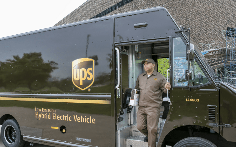 Electric Vehicles: Ups Electric Vehicles