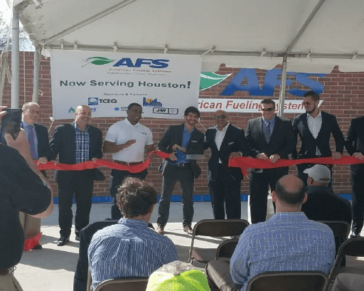 ribbon-cutting-2 American Fueling Systems Opens New CNG Station for Texas Fleets