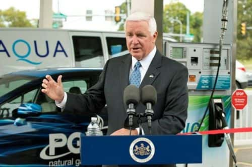 10052_corbett Governor On Hand to Tout Philly CNG Station