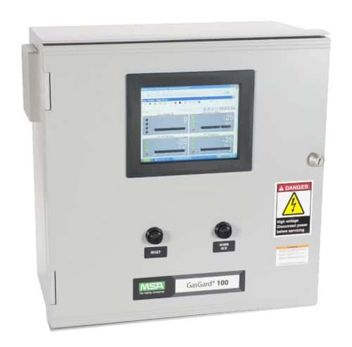 MSA's New GasGard 100 Control System Has Display Option