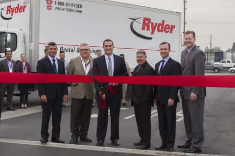 Ryder Opens Calif. Maintenance Facility Designed to Handle NGVs