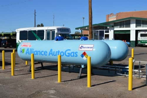 10569_sky_harbor_2 Phoenix Shuttle Fleet Slashes Fuel Costs in Half with Autogas