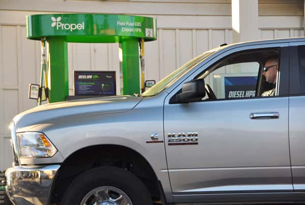 10577_dieselhpr_truck-3 Propel Fuels Launches Renewable Diesel Brand in Northern California