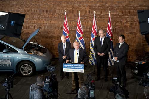British Columbia Announces New Round of EV Incentives