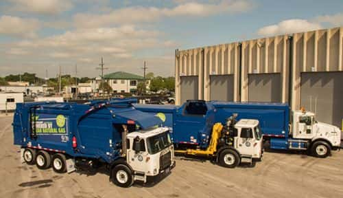 Orlando Expands Green Fleet with Five New CNG Trucks