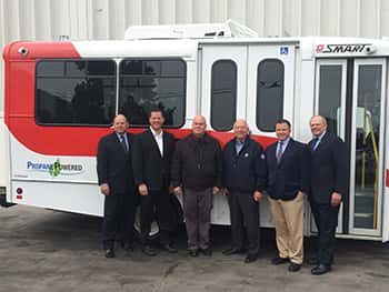 10781_smart Michigan's SMART Introduces Propane Autogas Paratransit Fleet