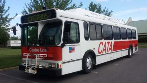 Fully Converted Fleet Operator Marks Retirement of Its First CNG Buses