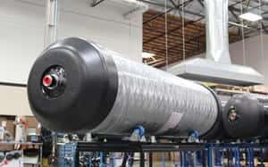 Quantum Develops New CNG Tank for Virtual Pipelines