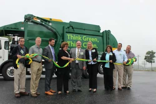 Waste Management Dedicates CNG Trucks, Public Fueling Station in Pa.