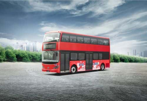 BYD Building 'World's First' All-Electric Double-Decker Bus