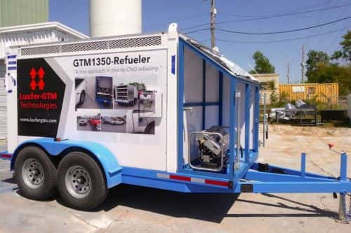 Luxfer-GTM Technologies Offering Portable CNG Fueling Station