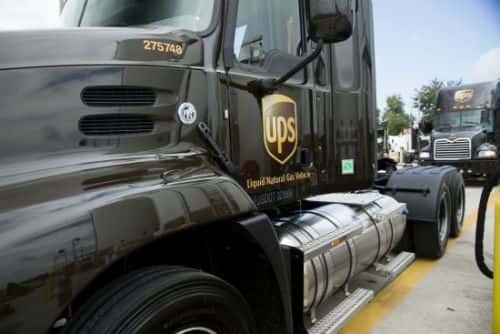 UPS Cruising Toward Alternative Fuel Goal