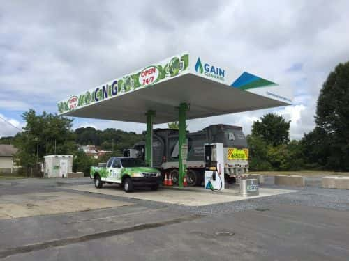Partners Open Revamped CNG Station in Pennsylvania