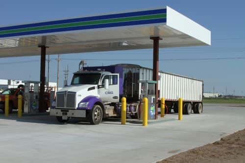 TruStar Energy Completes Public CNG Station in Kansas
