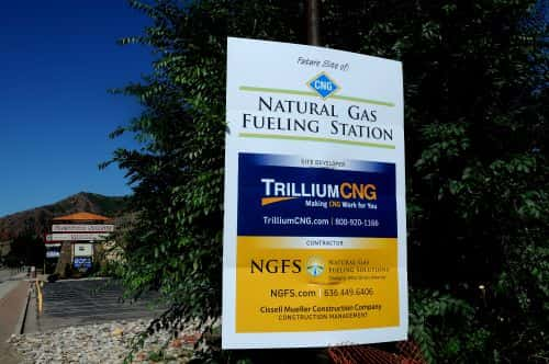 Trillium Building Public CNG Station in Glenwood Springs