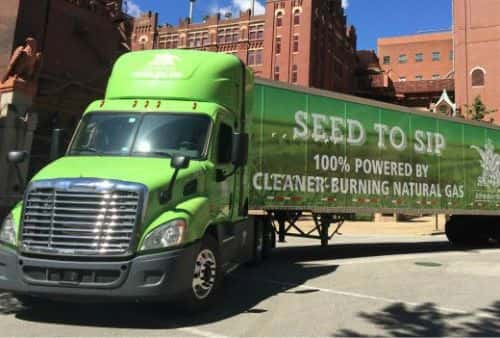 11056_seed_to_sip Anheuser-Busch Switches Entire St. Louis Fleet to CNG