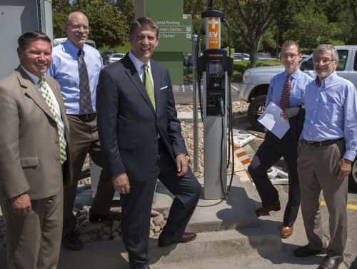 Utah Valley University Unveils Charging Stations and PHEVs