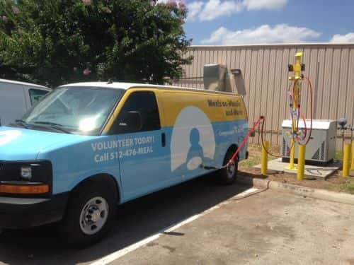 Meal-Delivery Nonprofit Showcases New CNG Van and Station