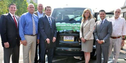Noble Energy Donates CNG Van to Social Service Organization