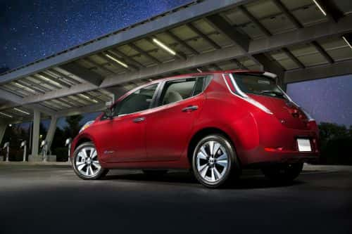 2016 Nissan LEAF Electric Vehicle Available with 107-Mile Range