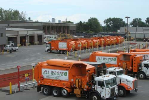 TruStar Energy Completes Time-Fill CNG Station for All Waste Inc.