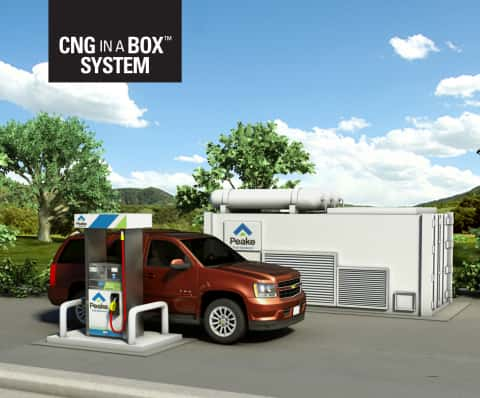 8189_cnginabox Chesapeake/GE Simplify Natural Gas Fueling With The CNG In A Box System