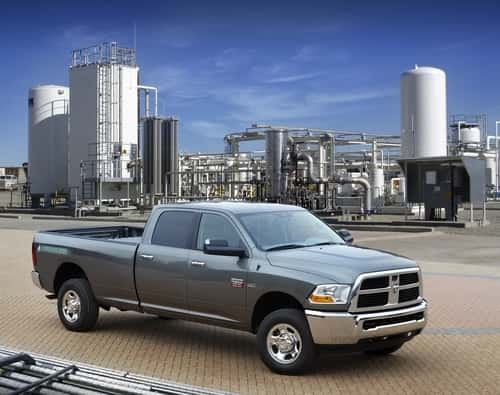 Here Comes The Ram 2500 CNG Pickup