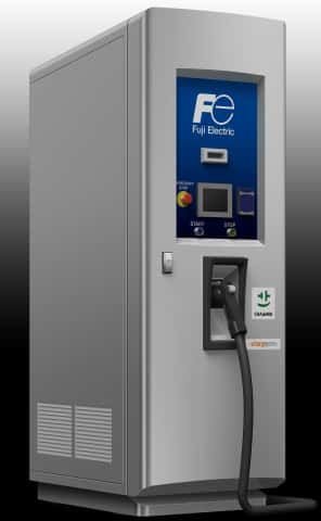 Fuji Electric Develops New DC Fast Charger for Electric Vehicles