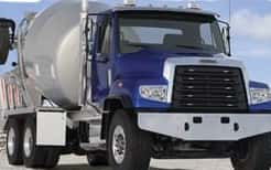 Freightliner Rolls Out CNG-Powered Concrete Mixer