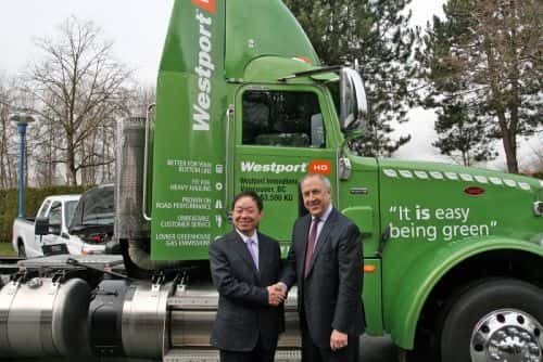 Westport and Chinese Mega-Firm ENN Propelling Natural Gas in Transportation