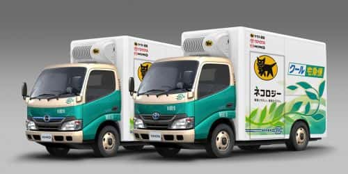 Toyota, Hino Working with Delivery Fleet on All-Electric Medium-Duty Truck