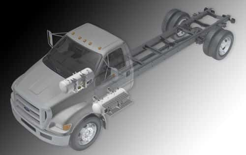 8709_f-650_short_iso-m ROUSH CleanTech Ready for Orders of Propane Autogas Ford F-650s