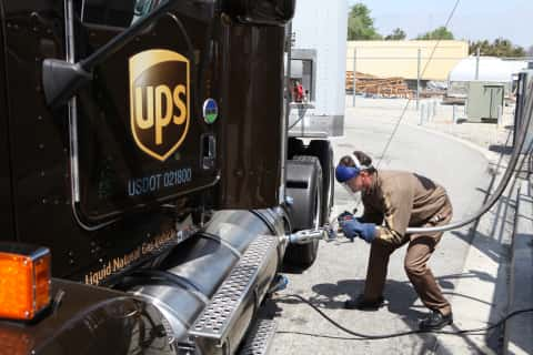 UPS: 700 More LNG-Powered Trucks Coming