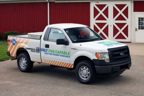 CNG, LPG For The Ford F-150: OEM Gaseous-Prep Package Is Coming