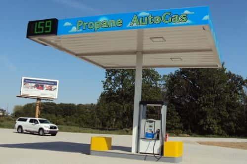 Four Year Propane Autogas Program Notches Its Last