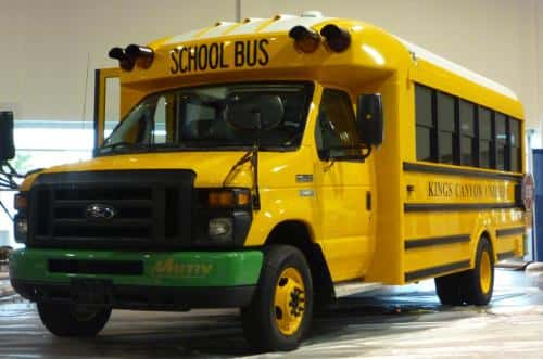 Kings Canyon Unified School District to Deploy All-Electric School Bus
