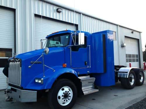 Heavy-Duty Fleet Leasing Natural Gas Kenworth T800s