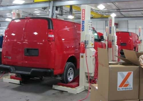 Coca-Cola's New Service-Van Fleet: 100 Percent Hybrid
