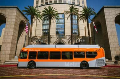 LA Metro's First New Compressed Natural Gas Bus Goes Online