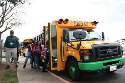 9529_ebus California School Fleet Puts Four Electric Buses Into Service