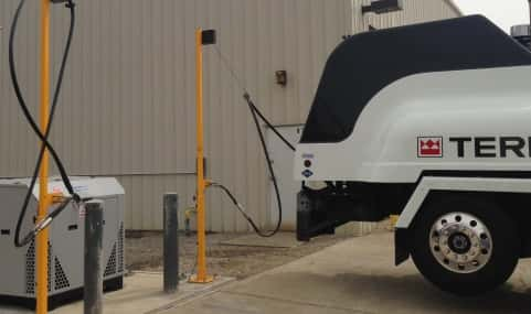 Bauer Compressors Micro Unit Backs Ozinga-Built CNG Refueling Capacity