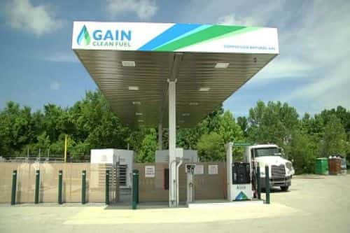 9801_gain GAIN Clean Fuel, Evergreen Transport Open Natural Gas Station