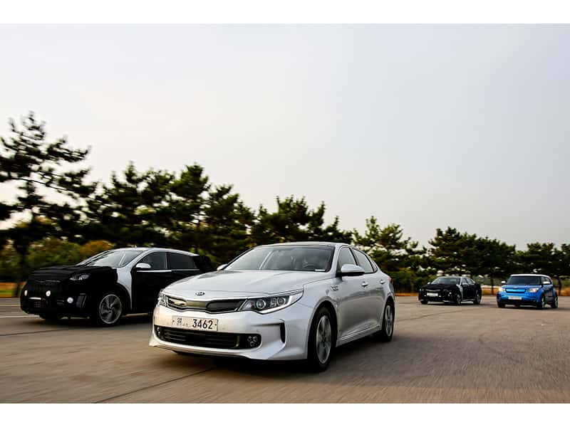 Kia Motors Has Announced Its Mid To Long Term Plans For The Development Of A Greatly Increased Range Environmentally Friendly Vehicles