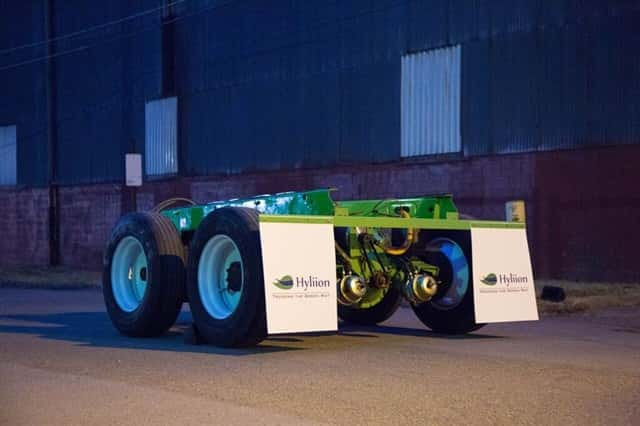 Hyliion A Start Up From Carnegie Mellon University Is Developing Hybrid Trailer Concept For Long Haul Semi Trucks That It Claims Could Improve Fuel