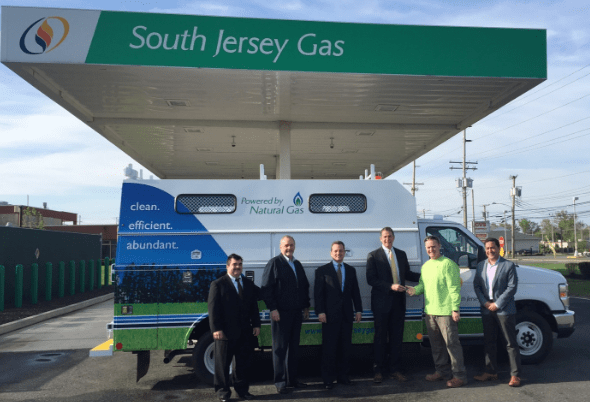 South Jersey Gas Deploys Its 100th CNG Fleet Vehicle - NGT News