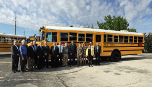 school-bus-lineup-300x172 Indianapolis Public Schools Refreshes Fleet with 100 New Propane Buses