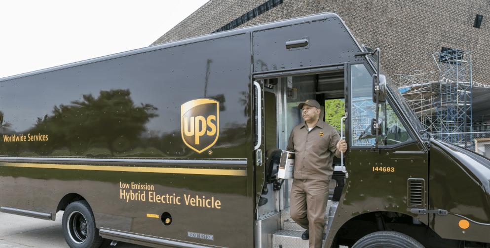 ups-hybrid-electric Alternative Fuel Vehicle News