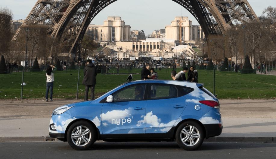 Hyundai Delivers 60 More Ix35 Fcevs To Paris Taxi Fleet