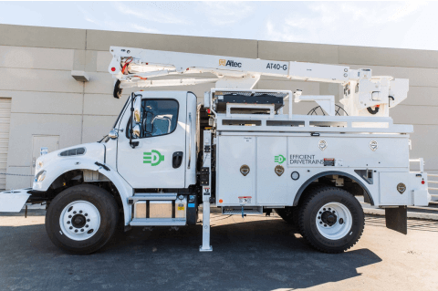 EDI Completes Vehicle Integration for Freightliner M2 Utility Truck